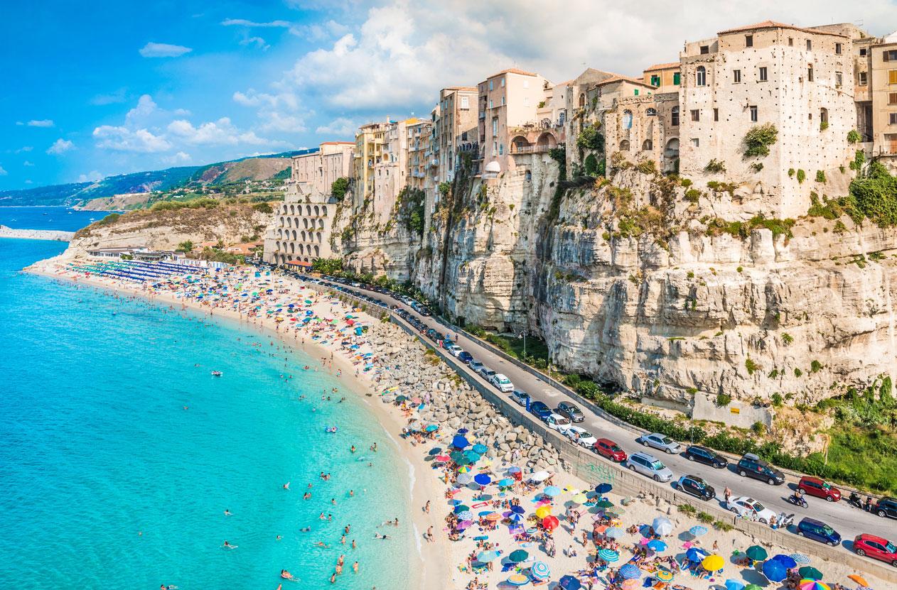 Gammal Karta Italien.25 Galet Pittoreska Stader I Italien Vagabond