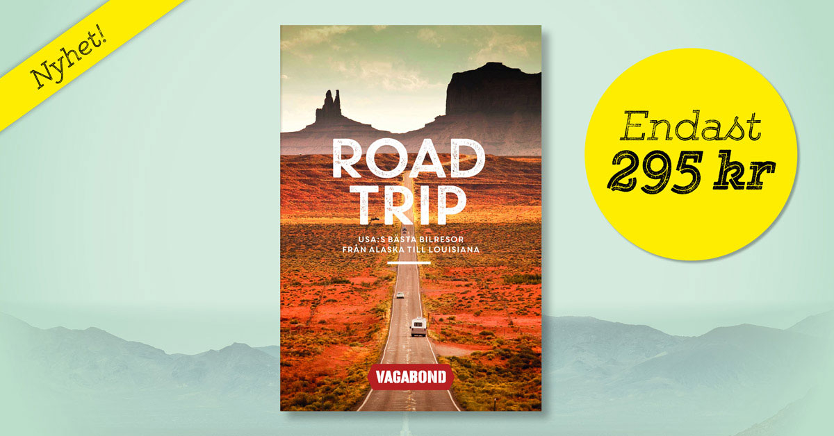 Köp Vagabonds nya bok Roadtrip