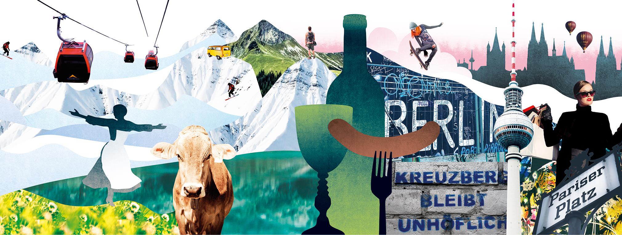 daba4dffc79 Tyskland är svenskarnas näst mest besökta semesterland. Samtidigt blir  Österrike allt populärare. Alperna lockar, liksom vingårdar, julmarknader  och coola ...