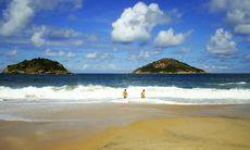 Brasiliens första lagliga nakenstrand