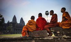Kambodja – cykla genom Angkor Wat