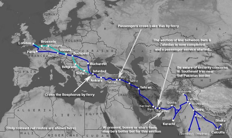 Karta Tyskland Tag.Tag Europa Indien Vagabond