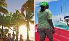 Ö till ö i Karibien: Båtluff i Västindien