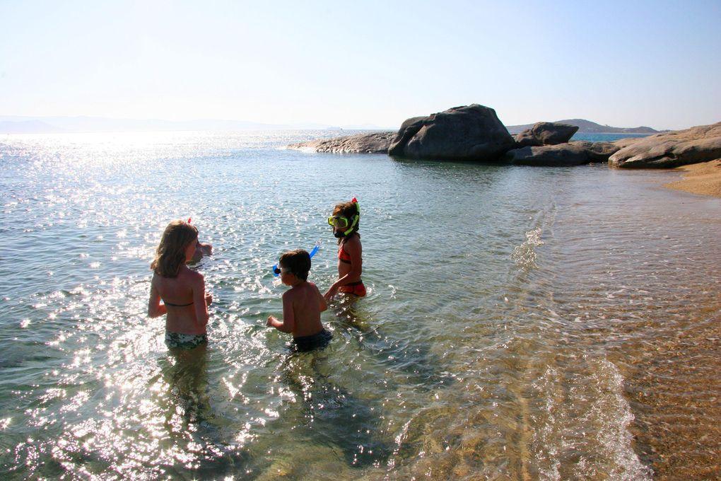 Nudist semester: Nudiststränder på Paros och Antiparos