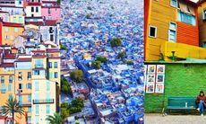 Här är världens mest färgsprakande städer