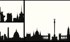Quiz: Kan du gissa staden baserat på siluetten?