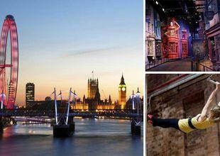10 upplevelser barnfamiljer inte får missa i London