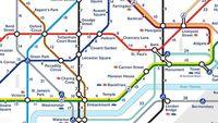Promenera eller ta tunnelbanan i London? Ny karta hjälper dig att välja