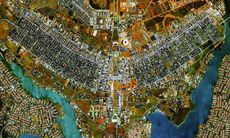 Quiz: Känner du igen staden ovanifrån?
