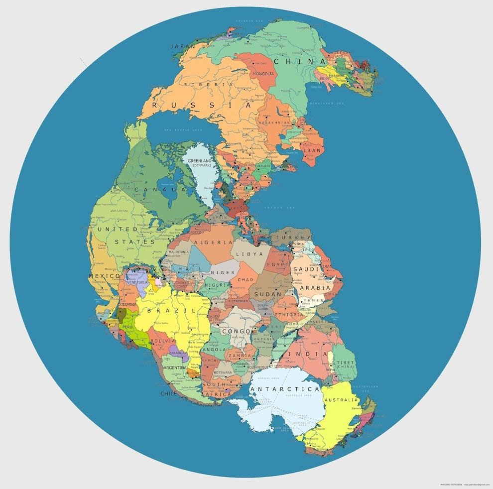 Australien Karta Lander.15 Kartor Som Kommer Att Forandra Din Syn Pa Varlden Vagabond