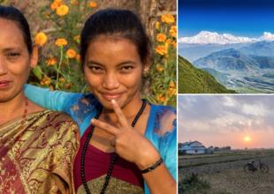 Nepal – kvinnorna på världens tak