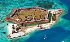 Dagens bild: Fästningen du inte får missa i Florida