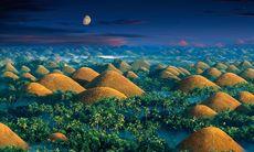 Legenden om Bohols sagolika chokladkullar