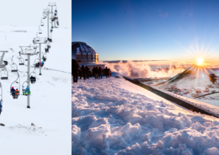 6 av de mest otippade platserna för skidåkning