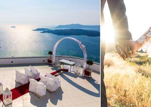 10 romantiska bröllopshotell i Europa