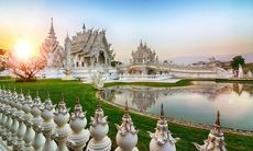 Dagens bild: Det vita templet i Chiang Rai