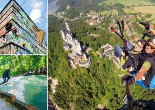 10 adrenalinfyllda aktiviteter i Tyskland