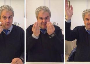 Video: Charmig guide lär dig att prata italienska med händerna