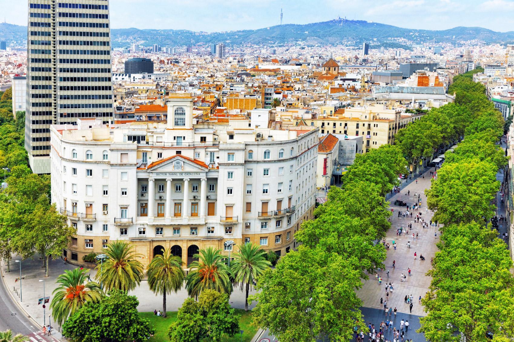 Karta Over Sevardheter I Barcelona.13 Gratisnojen I Barcelona Basta Tipsen For Dig Med Liten Budget