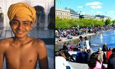 Indien intar Kungsträdgården