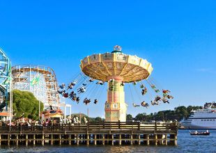 Här finns Europas billigaste nöjesparker