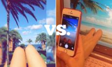 12 exempel på semester på Instagram VS semester i verkligheten