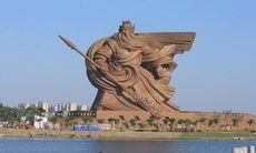 Enorm staty av krigsgud i Kina– en av de brutalaste statyerna någonsin?