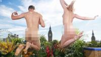 Takterrassen i centrala London – bara för nudister