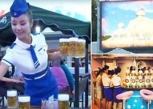 Video: Så här såg det ut när Nordkorea höll sin första ölfestival