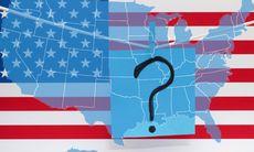 USA-quiz: Kan du identifiera alla USA:s stater på en karta?