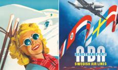 Resenostalgi: Svenska reseaffischer från förr