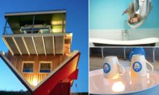 Knasiga synvillan i Tyskland – kaféet där är allt uppochner
