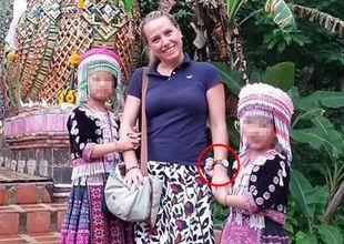 Thailand: Här syns barnen stjäla turistens klocka