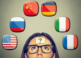 Att tänka på ett annat språk gör dig mer logisk