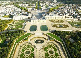 Fantastiska drönarvideon över Versailles – visar världsarvets massiva storlek