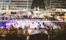 Münchens flygplats bjuder på en julmarknad utöver det vanliga