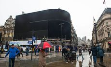Piccadilly Circus har släckts ner