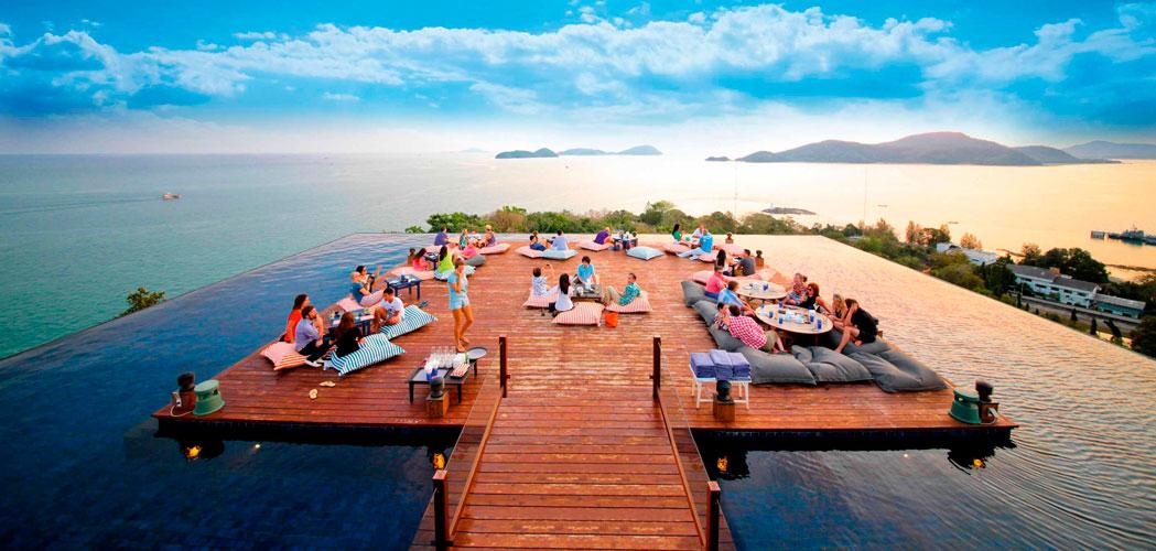 6 unika restaurangupplevelser i thailand vagabond - Dakterras restaurant ...