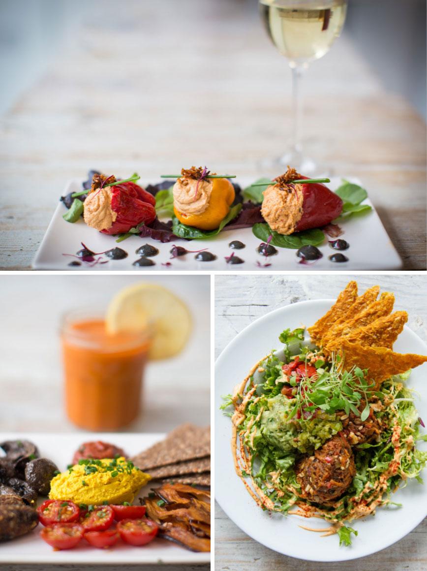 vegetariska restauranger london