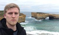 Kille besöker Australien – är långt ifrån imponerad