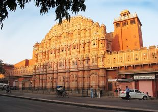 En perfekt dag i indiska Jaipur