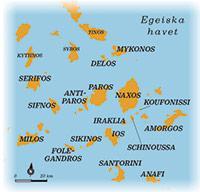 kykladerna karta Vagabonds stora öluffarguide – så hittar du rätt i den grekiska  kykladerna karta
